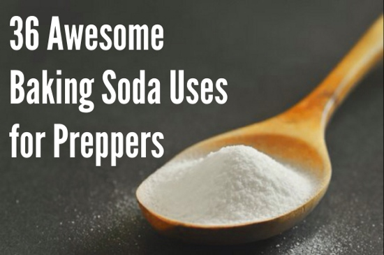 36 Awesome Baking Soda Uses for Preppers
