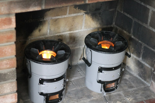 Rocket Stove Briquette ~ Ecozoom lightweight rocketstove review