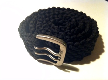 Slatts rescue belt paracord belt upgrade for How to make a belt out of paracord